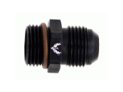 Radius Port to AN Adapter Fittings ORB (Black)