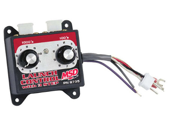 MSD Launch Control Module Selector