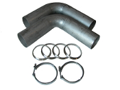 Exhaust Turn-Up / Bullhorn Kits