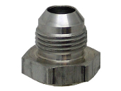Steel AN Male Drain Weld Fitting