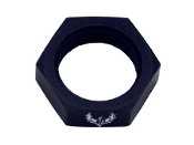 Bulkhead Nut (Black)