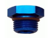 Straight Thread O-Ring Plug (Blue)