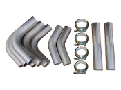Aluminum Intercooler Tube Kit (w/V-Band Assemblies)